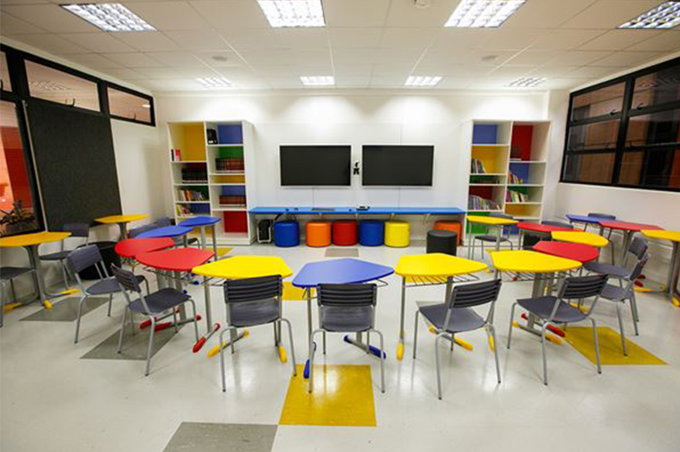 Innovative High School Classroom Design ~ Arquitetura escolar influencia no aprendizado portal